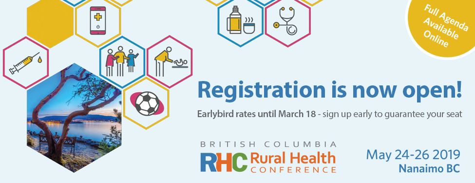 Society of Rural Physicians of Canada - BC Rural Health Conference 2019